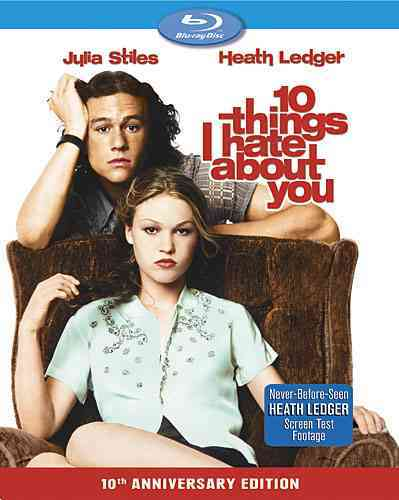 10 THINGS I HATE ABOUT YOU SE BY LEDGER,HEATH (Blu-Ray)